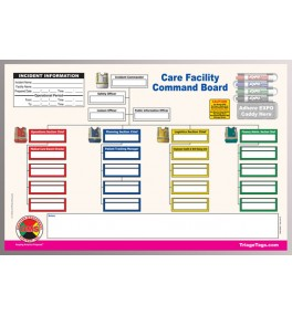 Care Facility Dry Erase Command Board