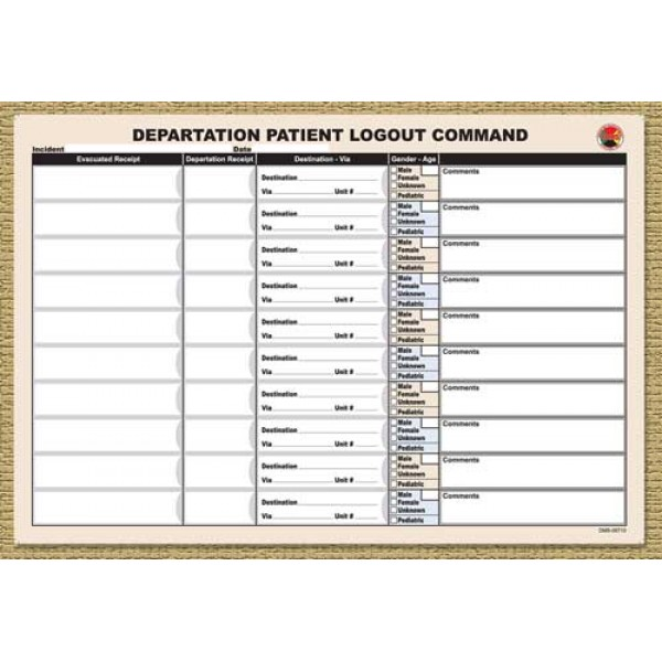 Departation Logout Replacement Pad