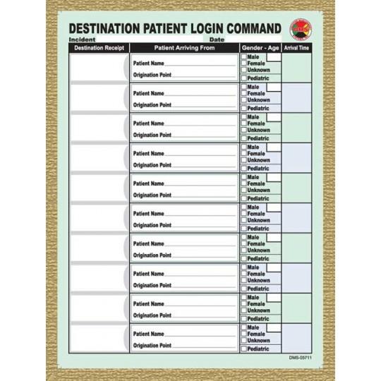 Destination Login Replacement Pads