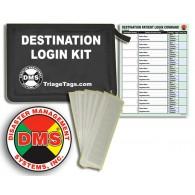 Evacuation Destination Login Kit