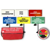 EOC Flag Kit for Small Local Government - 6 Flags