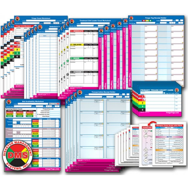 EMT3® Go-Kit Refill Package