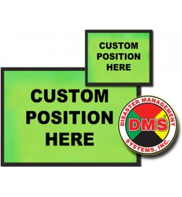 Dynamic Placard Set - Lime Green