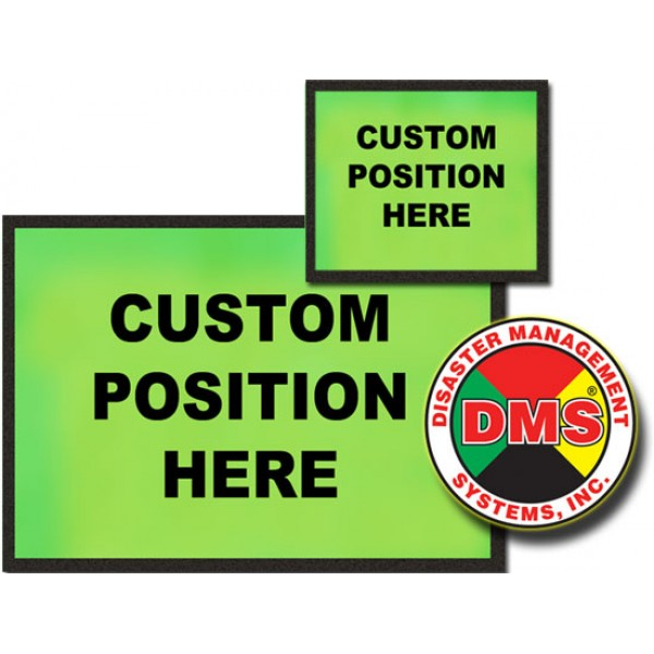 Dynamic Placard Set Only - Lime