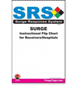 SRS™ - Surge Response System Instructional Flip Chart Hospitals