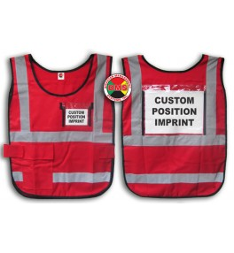 Window Vest - Red