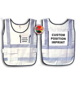 Window Vest - White