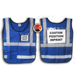 Window Vest - Blue
