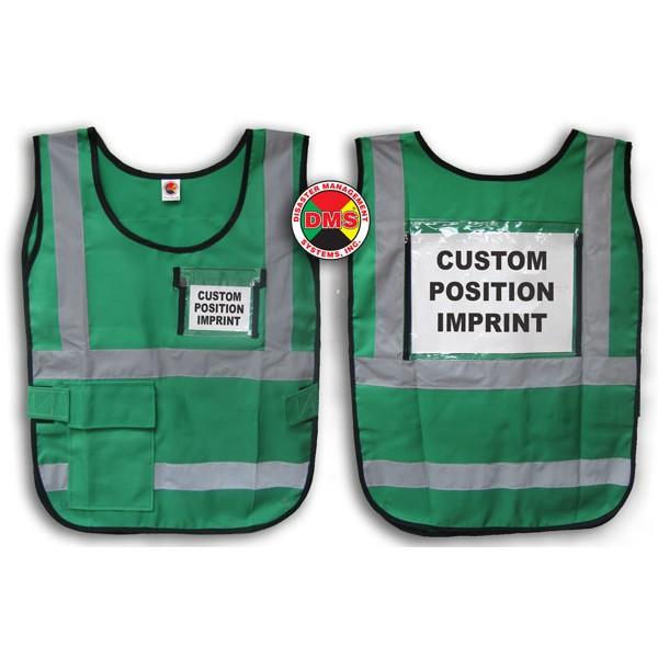 Vest, Green Window Style