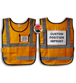 Window Vest - Orange