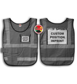 Window Vest - Gray