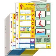 Evac123 Hospital-Care Facility Evacuation Tag