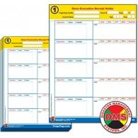 Evac123® Room Evacuation Step 1 Receipt Holder Refill Pack