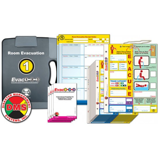 Evac123® Room Evacuation (Step 1) Package
