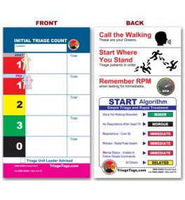 Patient Count Card - Refill Pack