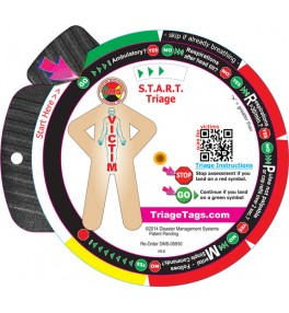 START Triage Trainer Wheel 10 Pack