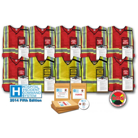 HICS 2014 Compliance Upgrade for HICS IV 78 Position Vest Kit