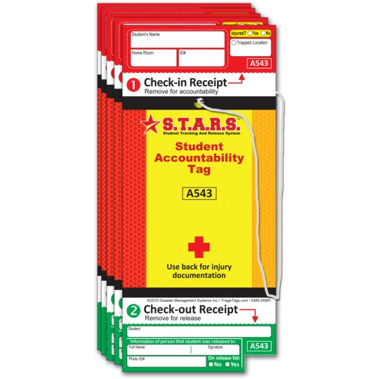 S.T.A.R.S. Student Accountability Tags