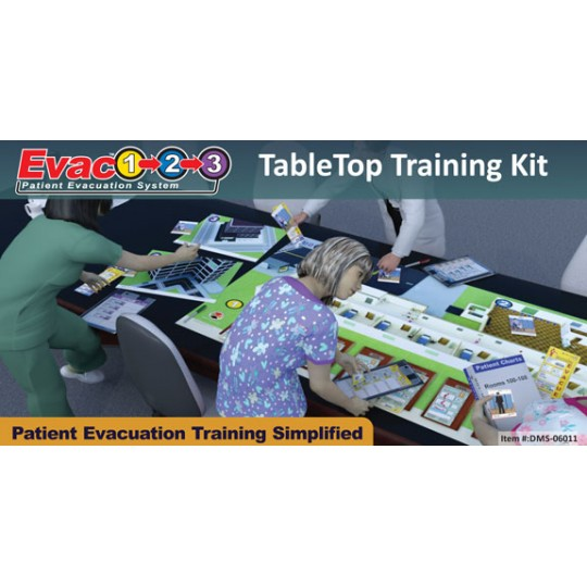 Evac123® Tabletop Training Kit