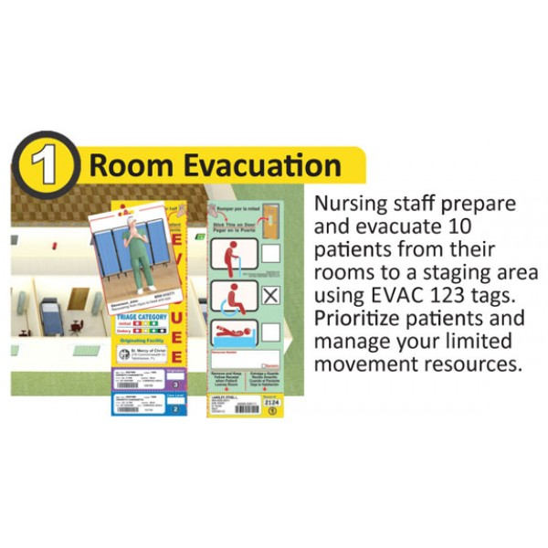 Evac123 Tabletop Training for Hospital-Care Facility Evacuation