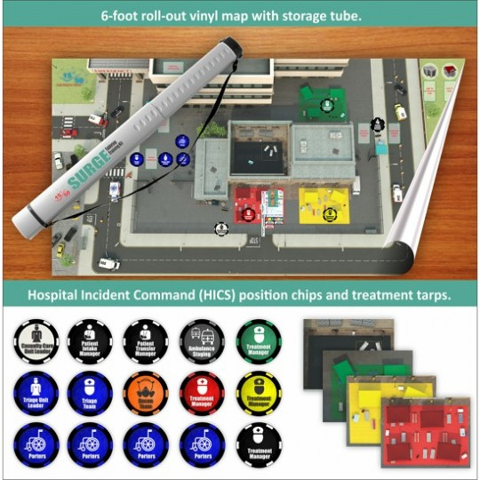SRS™ SURGE Tabletop Training Kit for Hospitals
