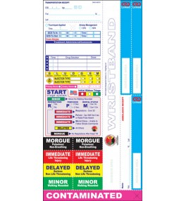 All Risk® Triage Tags w/ Linked Receipt System