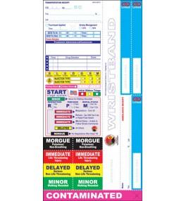 All Risk® Triage Tags w/ Linked Receipt System