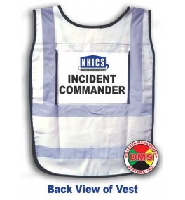 NHICS Nursing Home Incident Command Vest Kit - 10 Position