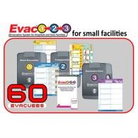 Evac123® Small Hospital/Facility Evacuation 60 Package