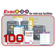 Evac123® Mid-Sized Skilled Nursing Facility Evacuation 100 Package (SNF)