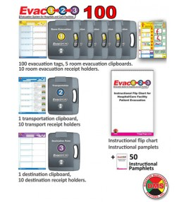 Evac123® Mid-Sized Hospital/Facility Evacuation 100 Package