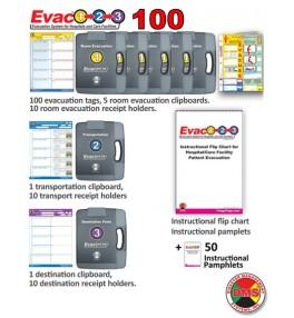 Evac123® Mid-Sized Hospital/Facility Evacuation 100 Package
