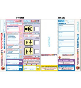 Evac123® Pediatric Evacuation Tag